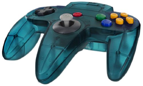 Cirka N64 Controller, Turquoise - Nintendo 64 (N64 Controller)
