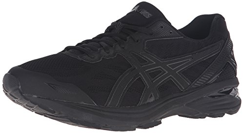 ASICS Men's Gt-1000 5 Running Shoe, Black/Onyx/Black, 10 4E US - Onyx Vertical Line