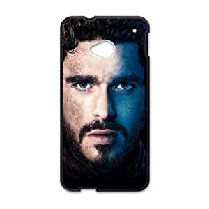 HTC One M7 Cell Phone Case Black_Game Of Thrones Robb Stark IB7806635