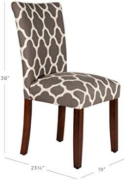 home, kitchen, furniture, kitchen, dining room furniture,  chairs 6 image HomePop Parsons Classic Upholstered Accent Dining Chair, Set promotion