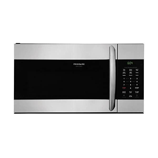 Frigidaire FGMV176NTF 30″ Gallery Series Over the Range Microwave with 1.7...