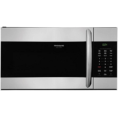 Frigidaire FGMV176NTF 30″ Gallery Series Over the Range Microwave with 1.7 cu. ft. Capacity in Stainless Steel