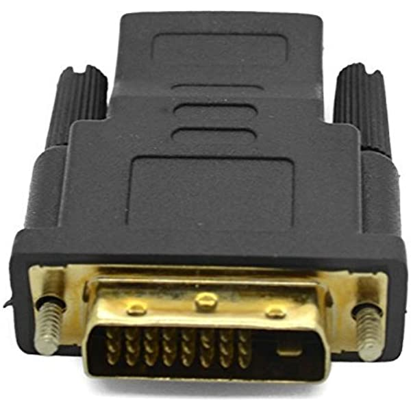 femelle - plaqu/é or 24 ct m/âle HDMI Par mondiale des donn/ées vers DVI