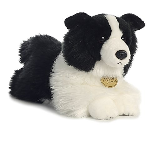 Border Collie Plush Stuffed Animal