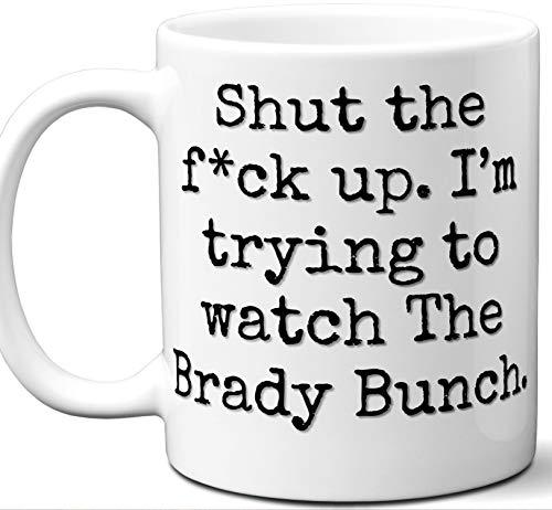 (The Brady Bunch Gift Mug. Funny Parody TV Show Lover Fan