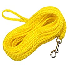 Coastal Pet R3850 G YEL50 .25 in. x 50 ft. Poly Check Cord, Yellow