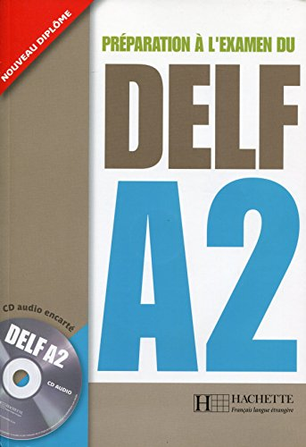 Delf A2 Livre de L'Eleve + CD Audio (French Edition) by Hachette Fle