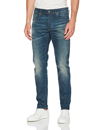 Homme Jeans Bleu Aged medium 9118 G 071 Raw star UOTfxf