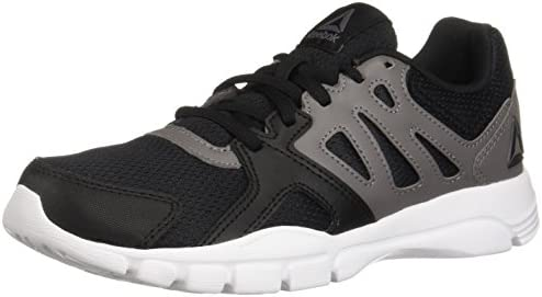 Reebok Women's Trainfusion Nine 3.0 Cross Trainer, Black Shark White, 5.5 M US