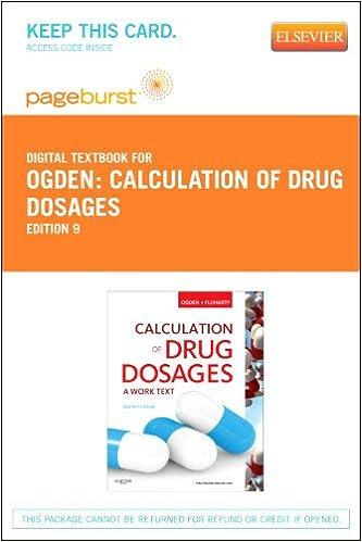 Counting Number worksheets fun chemistry worksheets : Calculation of Drug Dosages - Elsevier eBook on VitalSource ...