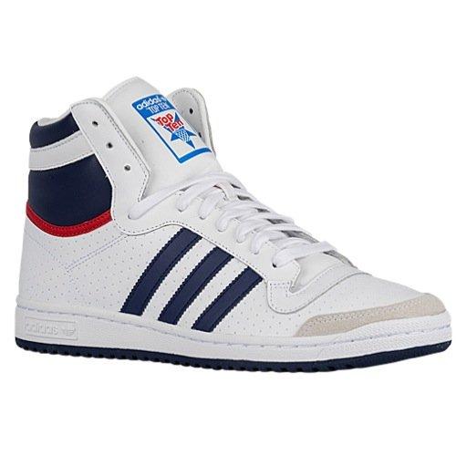 Adidas Top Ten Hi Men's Navy Blue / White / Red Q16713 (8)