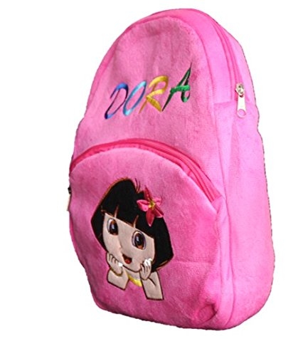 Buy ToyJoy Explorer Pink Princess School Bag 35cm for 1.5 to 4.5 yrs Kids  Girls Children Plush Soft Bag Backpack Cartoon Birthday Gift for Kids  Online at ... 98fde26e9efc6
