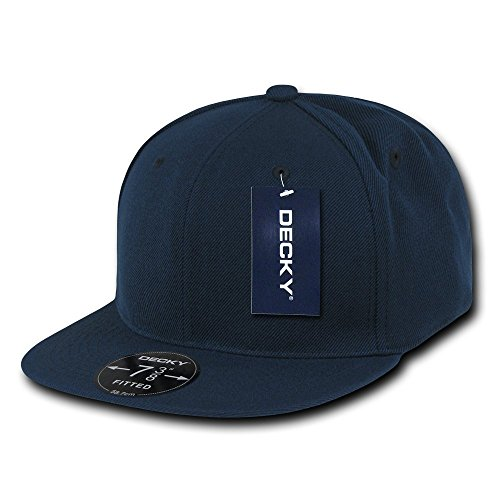 Navy Fitted Cap - 6