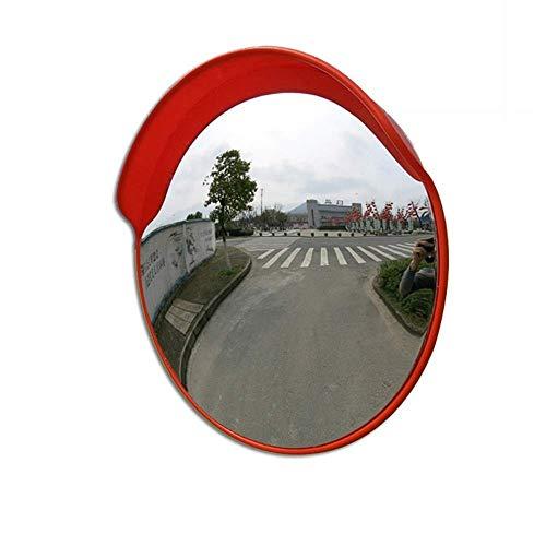 HOSHT Traffic Mirror 45cm Road Wide Angle Convex Spherical Mirror Corner Curved Mirror Convex Mirror Anti-theft Safety Mirror