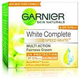 arnier Skin Natural White Complete Multi Action Fairness Cream SPF 19 PA+++ (18g) (Pack of 2)