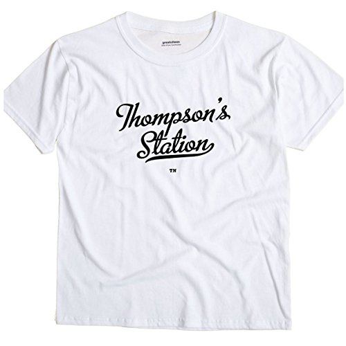 GreatCitees Thompson's Station Tennessee TN Metro Unisex Souvenir T Shirt