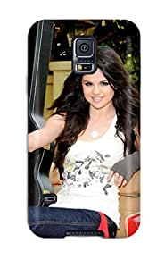Fashionable Style Case Cover Skin For Galaxy S5- Selena Gomez Car