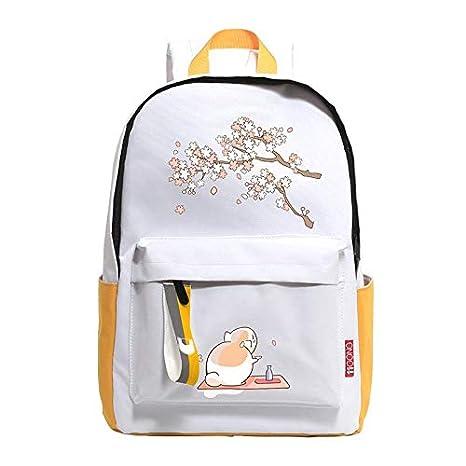 Amazon.com: Anime Natsume Yuujinchou Cute Cat Backpack ...