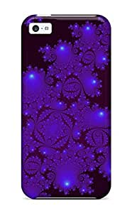 Cute Appearance Cover/tpu PKGKesW13220aPwyy Fractal Abstract Other Case For Iphone 5c