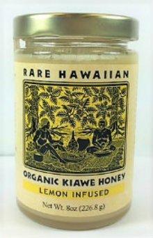 Rare Hawaiian Organic Lemon Honey, 8 Ounce