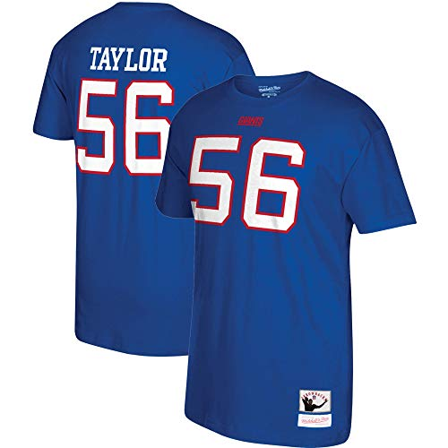 - Mitchell & Ness Lawrence Taylor New York Giants Retired Player Name and Number T-Shirt (X-Large)