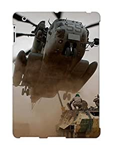 Defender Case With Nice Appearance (sikorsky Mh-53 ) For Ipad 2/3/4 / Gift For New Year's Day