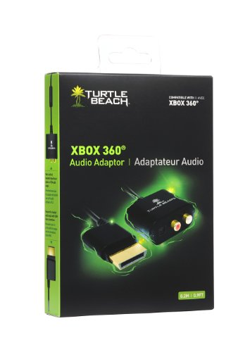 Turtle Beach Ear Force® Audio Adapter Cable for Xbox 360®