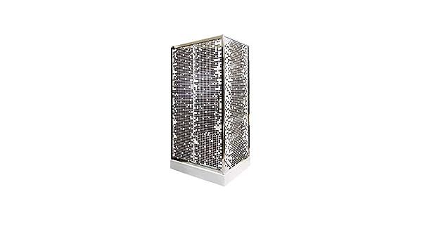 AZURA HOME DESIGN - Cabina de Ducha (80 x 100 x 201 cm): Amazon.es ...