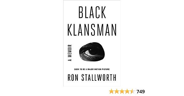 Black Klansman: A Memoir: Amazon.es: Stallworth, Ron: Libros ...
