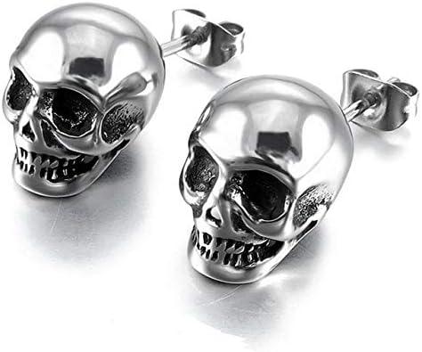 Acheter boucles d'oreille tete de mort online 10