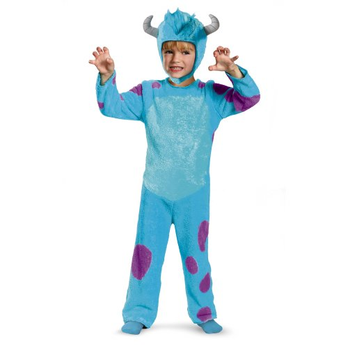 Disney Pixar Monsters University Sulley Toddler Classic Costume, 2T ()