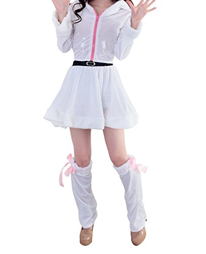 [YFFaye Women's White Nightclub DS Christmas Party Dress] (Childrens Dressing Up Knights Outfit)