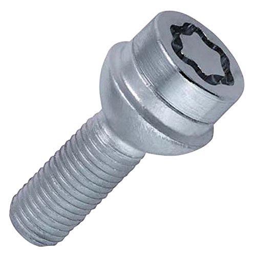 Tornillos antirrobo para ruedas base esf/érica, M14 x 1,50, longitud del v/ástago 45,0 mm, SW17 McGard 28017SU Standard