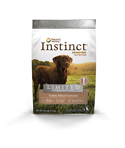 Instinct Limited Ingredient Diet Grain Free Turkey Meal Formula Natural Dry Dog Food By Nature'S Variety, 25.3 Lb. Bag