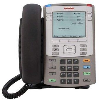 Avaya/Nortel 1140E IP Desk Phone - Graphite Icon Keys No Power Supply (RoHS) (Avaya Bluetooth Adapter)