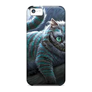High-quality Durable Protection Cases For Iphone 5c(cheshire The Cat)