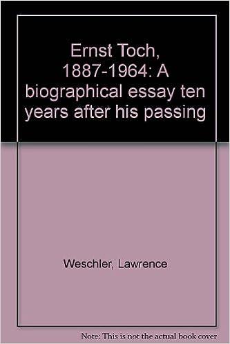 biographical essay