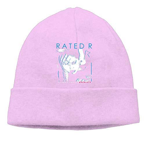 f313d09a Chesae Siuye Unisex Watch Cap Rihanna-Rated-R-Sign Slouchy Beanie Hat