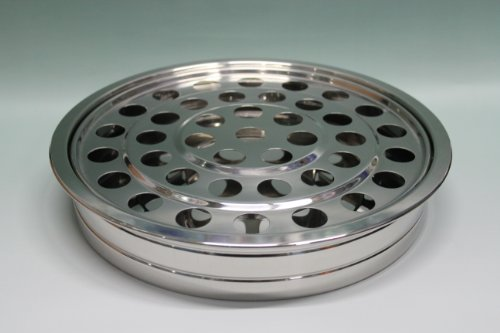 Silvertone    Stainless Steel Communion Tray