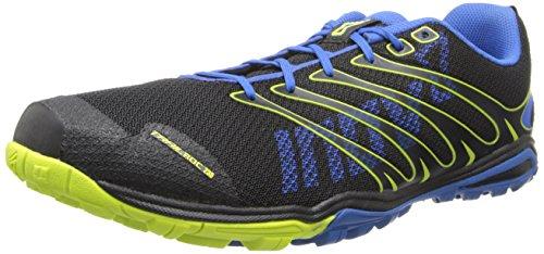 Inov-8 Men's Trailroc 235 Running Shoe,Black/Blue/Lime,9 E US/10.5 E US Women's