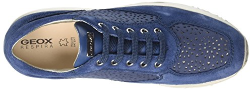 D A Happy Damen Sneaker Blau Denim Geox qA5BO7cA