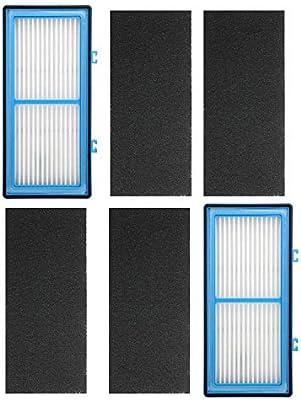 ECOMAID 2 HEPA + 4 filtros de carbón para Holmes AER1 HEPA Tipo ...