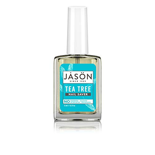 - JASON Purifying Tea Tree Nail Saver, 0.5 Ounce Bottle (Pack of 4)