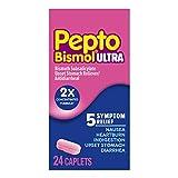 Pepto Bismol Caplets Ultra, 24
