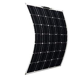 150W Monocrystalline Flexible Solar Panel Module Outdoor Solar Power System (150W)