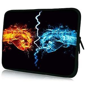 """conseguir Puño Patrón 7 """"/ 10"""" / 13 """"Laptop Sleeve Case para el MacBook Air Pro / Mini Ipad / Galaxy Nexus Tab2/Google 18069 , 7 inch"""