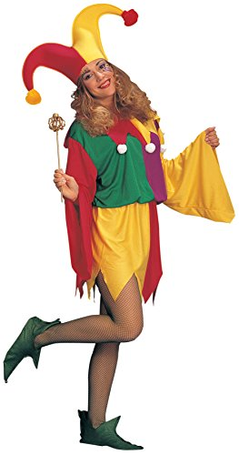UHC Renaissance Jester Kings Outfit Holiday Theme Party Adult Fancy Costume, OS