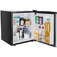 Cuisinier - Mini réfrigérateur sans fil Null - 38 litres - Mini réfrigérateur sans bruit - réfrigérateur hôtel - Classe énergétique B