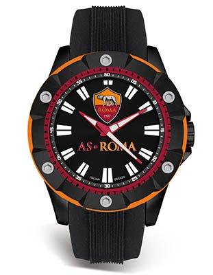 Offizielle Uhr Roma Fußball Sport 46 mm p-rn405un1