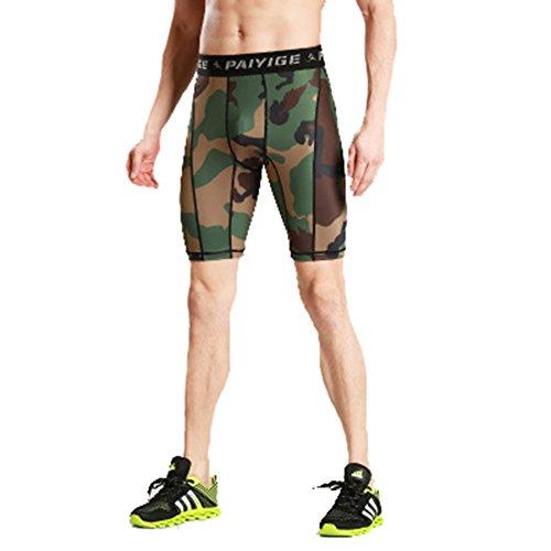 32836c0c80 CTOOO Hombre Pantalones Cortos De Playa Militar Camuflaje Pantalón Casuales  Shorts Para Verano De bajo costo